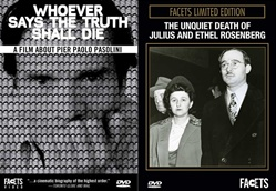 CONSPIRACY THEORIES: WHOEVER SAYS THE TRUTH SHALL DIE / UNQUIET DEATH OF JULIUS AND ETHEL ROSENBERG - AN EXCLUSIVE FACETS 2-PACK